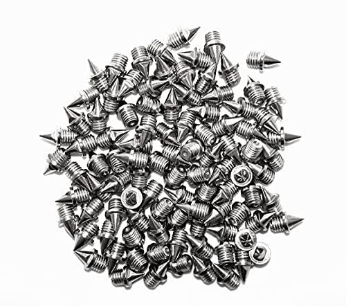 ecoSpikes Spikes aus Edelstahl, 6 mm, 100 Stück