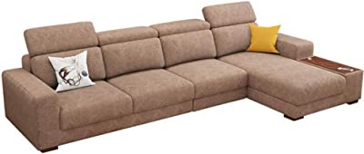 Mueble Sofa con ChaiseLongue, Arcon abatible, Tres plazas ...