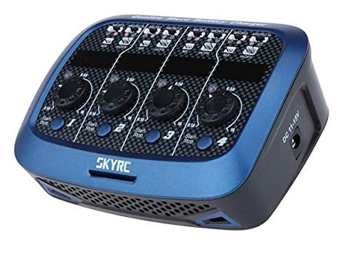 SKYRC ORIGINAL Quattro Mikro Ladegerät SK-100079 AC/DC 4x1S LiPo 1A