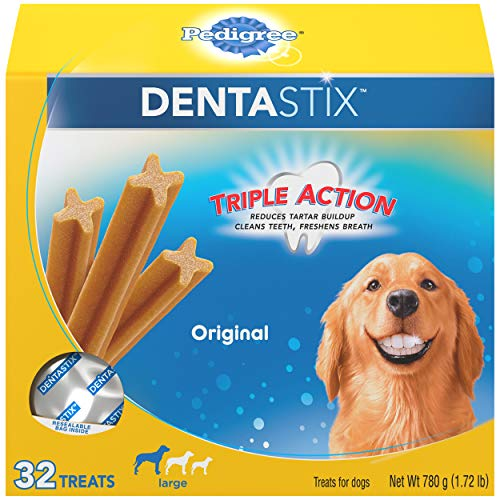 PEDIGREE DENTASTIX Large Dog Chew Treats,...