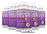 Ultra Fast Pure Keto Boost Max 1200mg Keto Pills Advanced BHB Ketogenic Supplement Exogenous Ketones Ketosis for Men Women 60 Capsules 5 Bottle