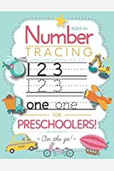Number Tracing Book for Preschoolers and Kids Ages 3-5: Trace Numbers Practice Workbook for Pre K, Kindergarten and Kids Ages 3-5 (Math Activity Book) Paperback