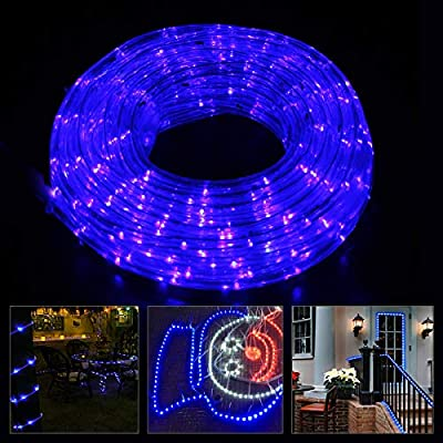 Led Rope Light - Landscape Lighting - 4 Modes Fairy Lights - Indoor/Outdoor Lighting with Remote Control - Christmas Decoration Rope Light for Holiday, Party