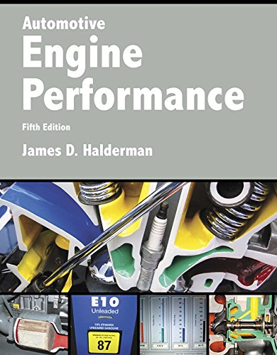 Compare Textbook Prices for Automotive Engine Performance Halderman Automotive Series 5 Edition ISBN 9780134074917 by Halderman, James