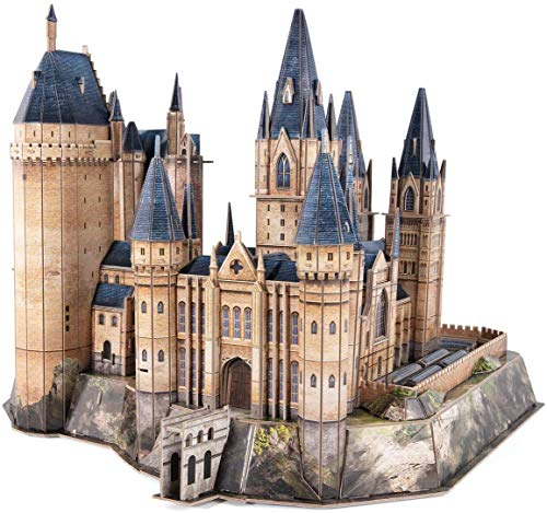 3D Puzzle Castillo De Hogwarts, El Castillo De Harry Potter DesHarry Potter 3D Puzzle Hogwarts Astronomy Tower   Modelo De Construcción De Hogwarts Y Kit De Construcción Regalos para Adultos Y Niños
