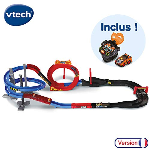VTech - Turbo Force – Méga Circuit Super Loop + Montre Voiture, circuit voiture enfant...