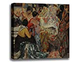 Canvas Print Wall Art - Los Mantones De Manila - Fernando Fader - Giclee Printed on Stretched Gallery Wrap - 16x13 inch
