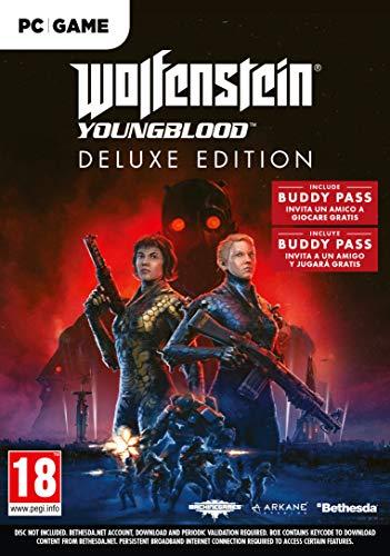 Oferta de Wolfenstein Youngblood - Edición Deluxe PC ( (La caja contiene un código de descarga)