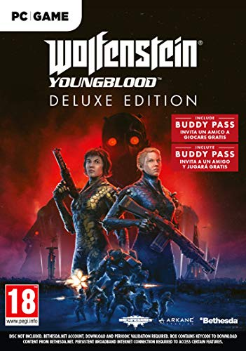 Wolfenstein Youngblood Deluxe Edition  PC (La confezione contiene un codice download)