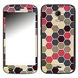Disagu SF-106037_1205 Design Folie für Wiko Darkmoon - Motiv Polygone 02