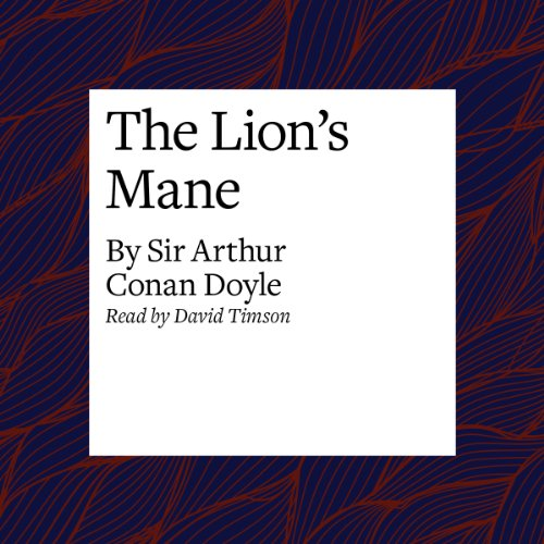 The Lion's Mane audiobook cover art