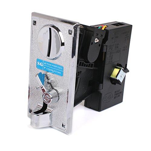 sharprepublic Aleación De Plástico De Monedas Electrónico Selector De Parte Aceptor Expendedora Juego De Arcade