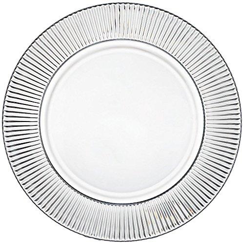 Assiettes en cristal, Assiette décorative, Salade plate, Panier à fruit, Collection\
