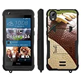 Flak Jacket Dual Armor with Kick-Stand Phone Cover, Football - Mobiflare HTC Desire 626 Flak Jacket Dual Armor with Kick-Stand Phone Case