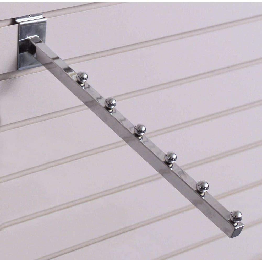 Time sale Slatwall Waterfall Arm with Balls Chrome 6 NEW before selling ☆