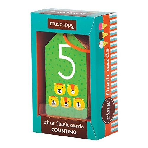 Counting Ring Flash Cards for kids