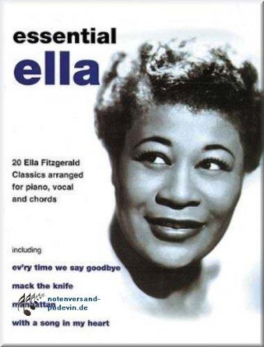 Ella Fitzgerald-Essential Ella-Notes Songbook [Partition]
