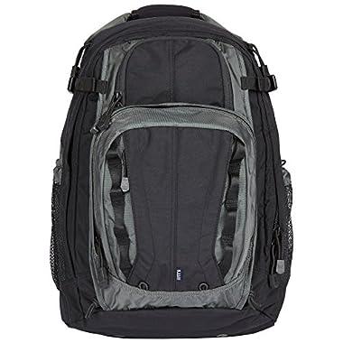 5.11 COVRT18 Tactical Covert Backpack, Style 56961, Asphalt/Black
