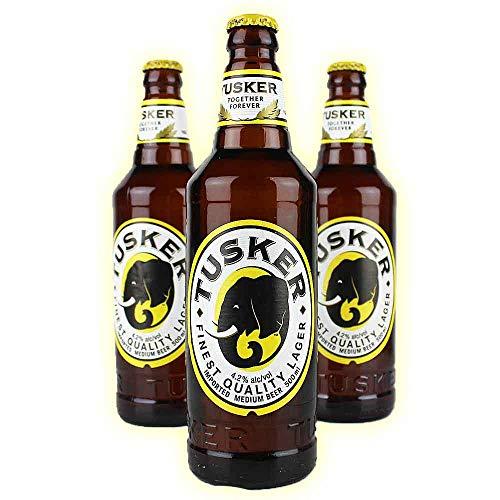 Tusker 3er Set Bier aus Kenia in Afrika - je 0,5l von.BierPost.com