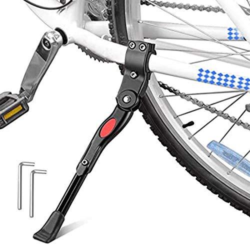 GOODTY Adjustable Bike Kickstand Aluminum Alloy Bicycle Side Kickstands Bike Stand for 24-29 inch Mountain Bike/Adult Bike/Sports Bike