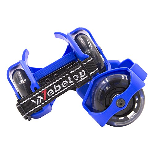 Webetop Heel Wheels, Roller Skate Shoes 2 Wheels for Kids, 60KG Weight Limited with Portable Bag and Mini Wrench for Adjusting Size