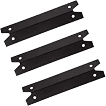 Hongso PPG311 (3-Pack) BBQ Gas Grill Heat Plate, Heat Shield, Heat Tent, Burner Cover, Vaporizor Bar, and Flavorizer Bar Replacement for Brinkmann, Charmglow Models Grills, 600-7100-0, BMHP1