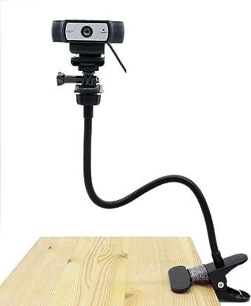 Supporto da scrivania, webcam, webcam flessibile Supporto a morsetto a collo d' oca supporto per Logitech webcam Brio 4K, C925E, C922x, C922, C930E, C930, C920, C615–38,1cm - Trova i prezzi più bassi