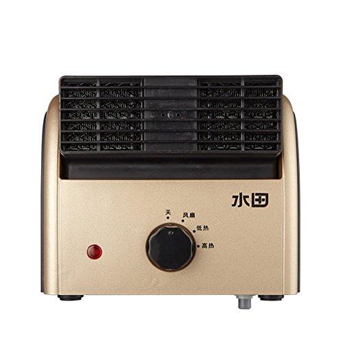 HAIZHEN Radiateur électrique Chauffage Électrique Fièvre Céramique PTC Vent Froid Air Chaud Impossible De Balancer Deux Couleurs Économie d'énergie (Couleur)