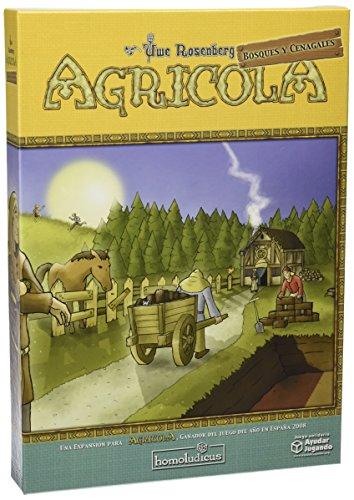 Devir Homoludicus 925142 - Expansión para Agricola: Bosques y ...