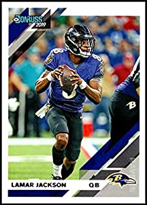 2019 Donruss #25 Lamar Jackson NM-MT Baltimore Ravens Officially Licensed NFL Football Trading Card