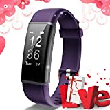 Lintelek Fitness Tracker Heart Rate Monitor, Activity Tracker, Pedometer Watch with Connected GPS,...