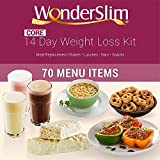 WonderSlim Core 2 Week Diet Kit – Complete Weight Loss Package – Meal Replacements, Protein Supplements, and Snacks