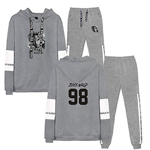 Enjoyyourlife Juice Wrld Hoodies Kapuzenpullover Sweatshirt Long Sleeve Printed Pullover Sweaters Outerwear F/ür Fans