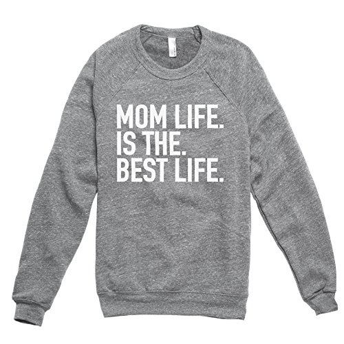 Thread Tank Mom Life Is The Best Life Women's Pullover Sweater