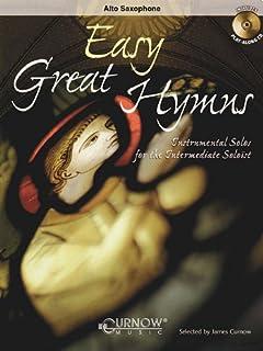 Easy Great Hymns: Alto Saxophone - Grade 2