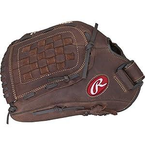 Rawlings Player Preferred Baseball Glove, Left Hand Throw, Slow Pitch Pattern, Basket-Web, 12-1/2 Inch