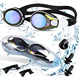 Oziral Gafas de natación, gafas de natación para adultos, sin fugas,...