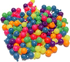 OutletBestSelling Beadwork Art Crafts Pop Snap It Novelty Beads 12mm - 144pc Multi Neon Colors Made in USA