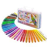 TBC The Best Crafts 36 Farben Wachsmalstift Bunte Wachsmalkreide in der Schule für Kinder Mädchen Junge