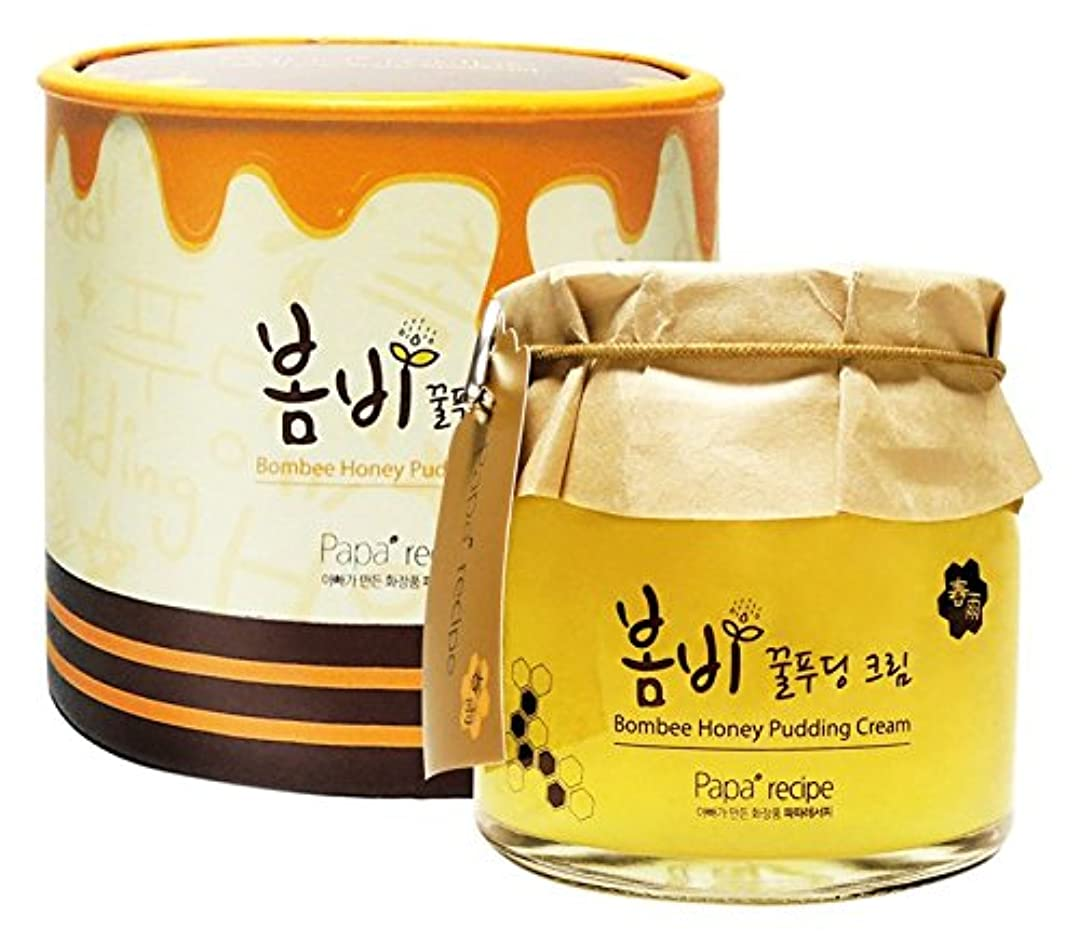 印象的な足ライオンPapa recipe Bombee Honey Pudding Cream 135ml/パパレシピ ボムビー ハニー プリン クリーム 135ml
