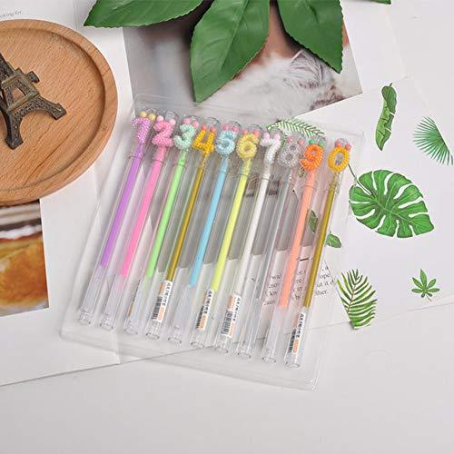 OOFAY 10 Farbe Anzug Kombination Aus Hohem Lichtgriffel, Highlighter Studenten, DIY Album Graffiti Stift