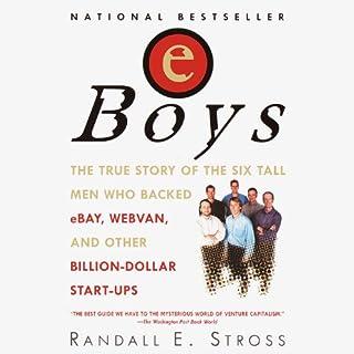 eBoys audiobook cover art