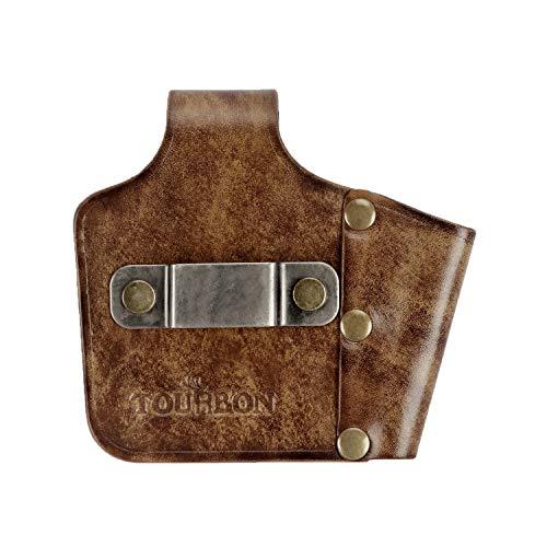 Tourbon Leather Tape Measure Holster Belt Tool Loop