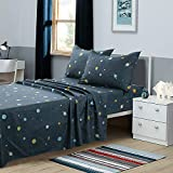 KFZ Outer Space Decor Bed Sheets Set...