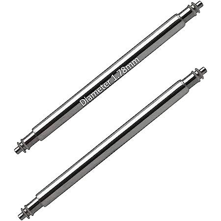 Masar 6 à 40mm Premium Ø 1.78mm 1.8mm 2mm 2.5mm INOX 316L - Swiss Barrettes à Ressort pour Bracelets de Montre - 2 ou 4 Pcs