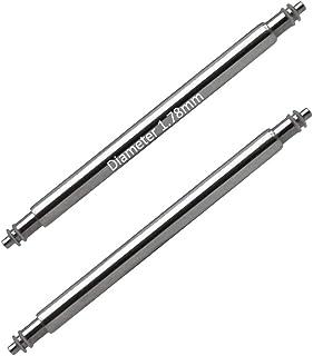 Masar 6 à 40mm Ø 1.78mm 1.8mm 2mm 2.5mm Premium INOX 316L ou Swiss Barrettes à Ressort pour Bracelets de Montre - 2 ou 4 Pcs
