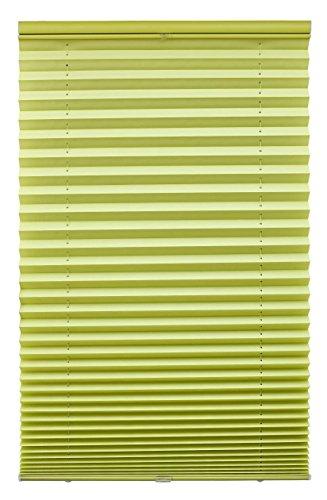 Lichtblick PLK.090.220.25 Plissee Klemmfix, ohne Bohren - Grün 90 cm x 220 cm (B x L)