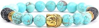 PHLPXL Natural Stone Bracelet Men Jaspers Beads Buddha Charm Bracelets Bangles For Women Jewelry