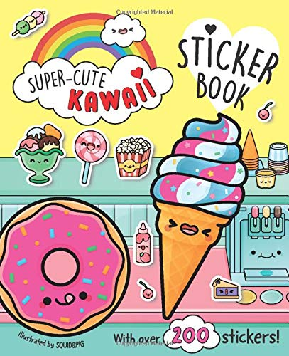 Super-Cute Kawaii Sticker Book