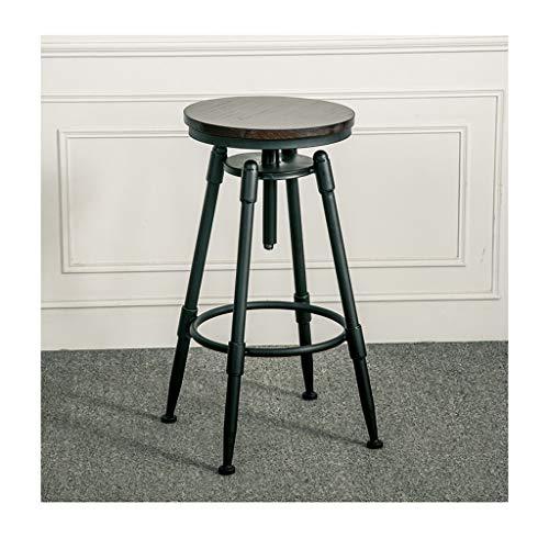 Tabouret de bar Chaise de Bar Design rétro Industriel Chaise pivotante Chaise Haute Chaise de Bar Tabouret Haut